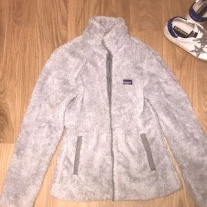Fuzzy Gray Patagonia Jacket! offers!!